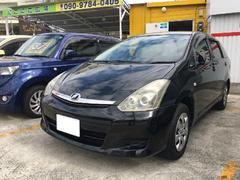 沖縄の中古車 トヨタ ウィッシュ 車両価格 39万円 リ済込 平成18年 9.9万K ブラックM