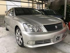 沖縄の中古車 トヨタ クラウン 車両価格 71万円 リ済込 平成17年 9.2万K シルバー