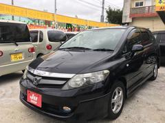 沖縄の中古車 ホンダ エアウェイブ 車両価格 42万円 リ済込 平成20年 9.6万K ブラックM