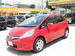 沖縄の中古車 ホンダ フィットハイブリッド 車両価格 69万円 リ済込 平成23年 8.0万K レッド