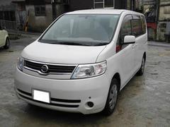 沖縄の中古車 日産 セレナ 車両価格 45万円 リ済込 平成19年 14.2万K パールホワイト
