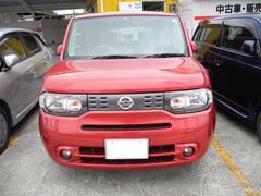 沖縄の中古車 日産 キューブ 車両価格 48万円 リ済込 平成22年 11.0万K レッド