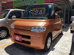 沖縄の中古車 ダイハツ タント 車両価格 24万円 リ済込 平成18年 8.8万K アプリコットキャンディメタリック