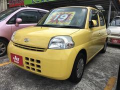 沖縄の中古車 ダイハツ エッセ 車両価格 19万円 リ済込 平成18年 6.1万K イエロー