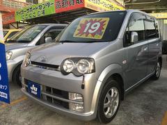 沖縄の中古車 ダイハツ ムーヴ 車両価格 19万円 リ済込 平成16年 11.1万K ブライトシルバーメタリック