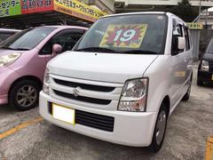 沖縄の中古車 スズキ ワゴンR 車両価格 19万円 リ済込 平成19年 11.1万K スペリアホワイト