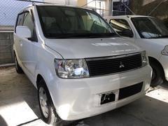 沖縄の中古車 三菱 eKワゴン 車両価格 19万円 リ済込 平成16年 6.1万K ホワイトソリッド