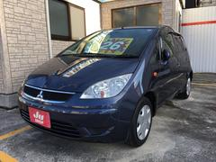 沖縄の中古車 三菱 コルト 車両価格 26万円 リ済込 平成21年 9.0万K ディープブルーマイカ