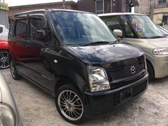 沖縄の中古車 マツダ AZワゴン 車両価格 19万円 リ済込 平成19年 11.6万K ブルーイッシュブラックパール3