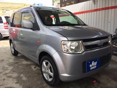 沖縄の中古車 三菱 eKワゴン 車両価格 24万円 リ済込 平成19年 11.0万K ドーンシルバーメタリック
