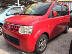沖縄の中古車 日産 オッティ 車両価格 24万円 リ済込 平成19年 13.6万K レッド
