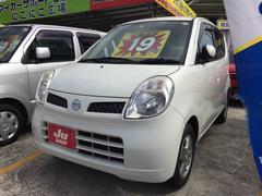 沖縄の中古車 日産 モコ 車両価格 19万円 リ済込 平成19年 11.4万K スノーパールホワイト