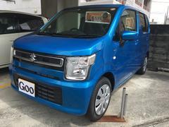 沖縄の中古車 スズキ ワゴンR 車両価格 141.5万円 リ済込 平成29年 8K ブルー