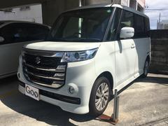 沖縄の中古車 スズキ スペーシアカスタムZ 車両価格 ASK リ済別 新車  パールホワイト