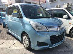 沖縄の中古車 スズキ ソリオ 車両価格 91万円 リ済込 平成27年 7.9万K ライトブルー