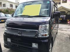 沖縄の中古車 マツダ スクラムワゴン 車両価格 52万円 リ済込 平成20年 12.6万K ミステリアスバイオレットパール