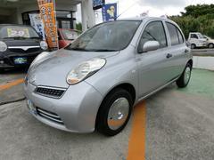 沖縄の中古車 日産 マーチ 車両価格 23万円 リ済別 平成21年 7.1万K シルバー