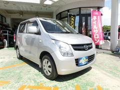 沖縄の中古車 マツダ AZワゴン 車両価格 45万円 リ済別 平成23年 4.4万K シルキーシルバーメタリック