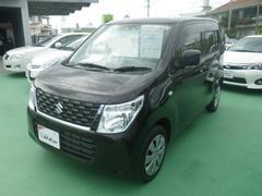 沖縄の中古車 スズキ ワゴンR 車両価格 103万円 リ済別 平成27年 0.6万K ブラック
