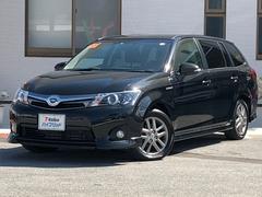 沖縄の中古車 トヨタ カローラフィールダー 車両価格 192万円 リ済別 平成26年 4.7万K ブラック
