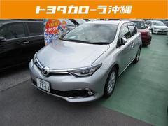 沖縄の中古車 トヨタ オーリス 車両価格 155万円 リ済別 平成27年 0.7万K シルバー