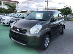 沖縄の中古車 トヨタ パッソ 車両価格 70万円 リ済別 平成24年 5.7万K Dグリーン