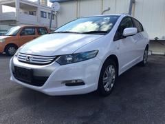 沖縄の中古車 ホンダ インサイト 車両価格 62万円 リ済込 平成21年 2.5万K パールホワイト