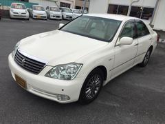 沖縄の中古車 トヨタ クラウン 車両価格 43万円 リ済込 平成17年 5.5万K クリームM