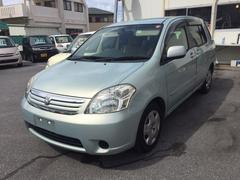 沖縄の中古車 トヨタ ラウム 車両価格 28万円 リ済込 平成15年 9.8万K LグリーンM