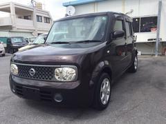 沖縄の中古車 日産 キューブ 車両価格 33万円 リ済込 平成19年 10.3万K ブラウンM