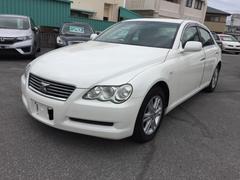 沖縄の中古車 トヨタ マークX 車両価格 36万円 リ済込 平成16年 9.3万K パールホワイト