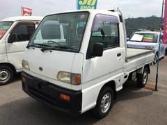 沖縄の中古車 スバル サンバートラック 車両価格 30万円 リ済込 平成11年 10.8万K ホワイト