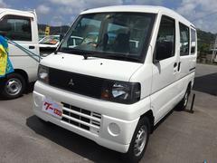 沖縄の中古車 三菱 ミニキャブバン 車両価格 32万円 リ済込 平成18年 11.0万K ホワイト