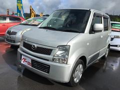 沖縄の中古車 マツダ AZワゴン 車両価格 31万円 リ済込 平成18年 8.9万K シルバーメタリック