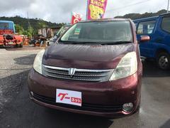 沖縄の中古車 トヨタ アイシス 車両価格 38万円 リ済込 平成17年 4.2万K ワイン