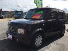 沖縄の中古車 日産 キューブ 車両価格 30万円 リ済込 平成19年 9.1万K ブラウン
