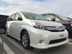 沖縄の中古車 トヨタ アイシス 車両価格 99万円 リ済別 平成24年 6.9万K パールホワイト
