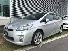 沖縄の中古車 トヨタ プリウス 車両価格 108万円 リ済別 平成22年 6.8万K シルバー