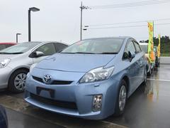 沖縄の中古車 トヨタ プリウス 車両価格 97万円 リ済別 平成23年 8.7万K ブルー
