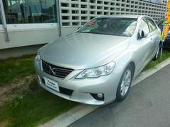 沖縄の中古車 トヨタ マークX 車両価格 139万円 リ済別 平成23年 2.6万K シルバー