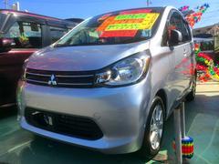 沖縄の中古車 三菱 eKワゴン 車両価格 69万円 リ済別 平成26年 2.1万K シルバー