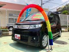 沖縄の中古車 スズキ ワゴンRスティングレー 車両価格 59万円 リ済別 平成24年 9.4万K パールホワイト