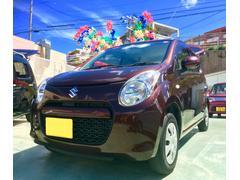 沖縄の中古車 スズキ アルト 車両価格 49万円 リ済別 平成22年 2.2万K ブラウン