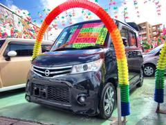 沖縄の中古車 日産 ルークス 車両価格 85万円 リ済別 平成24年 3.8万K ブラック