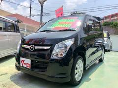 沖縄の中古車 マツダ AZワゴン 車両価格 69万円 リ済別 平成24年 3.9万K ブラック