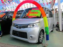 沖縄の中古車 日産 ルークス 車両価格 69万円 リ済別 平成22年 8.9万K シルバー