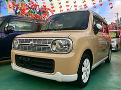 沖縄の中古車 スズキ アルトラパン 車両価格 58万円 リ済別 平成23年 8.7万K ベージュII