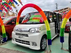 沖縄の中古車 ダイハツ タント 車両価格 89万円 リ済別 平成24年 1.8万K シルバー