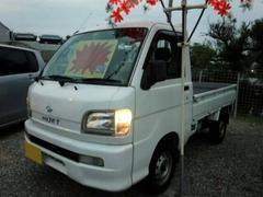 沖縄の中古車 ダイハツ ハイゼットトラック 車両価格 34万円 リ済込 平成15年 10.0万K ホワイト