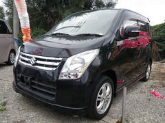 沖縄の中古車 スズキ ワゴンR 車両価格 49万円 リ済込 平成21年 8.5万K ブラック